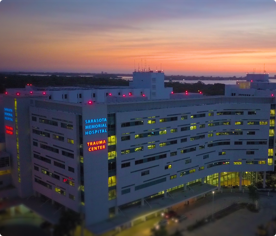 Sarasota Memorial Hospital - Cancer Institute Sunset